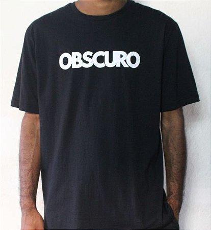Camiseta OBSCURO White Preta