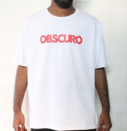 Camiseta OBSCURO Red Branca