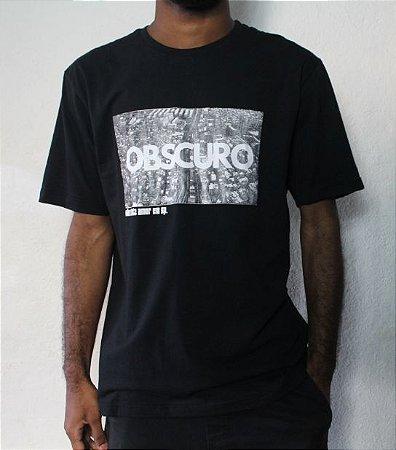 Camiseta OBSCURO S/Amor SP Preta