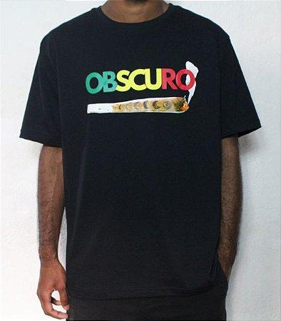 Camiseta OBSCURO Jhony/Lua Preta