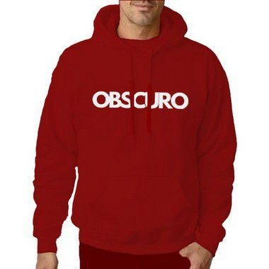 Blusa OBSCURO Canguru Vermelha