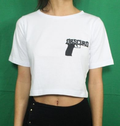 CROPPED OBSCURO Glock Branca