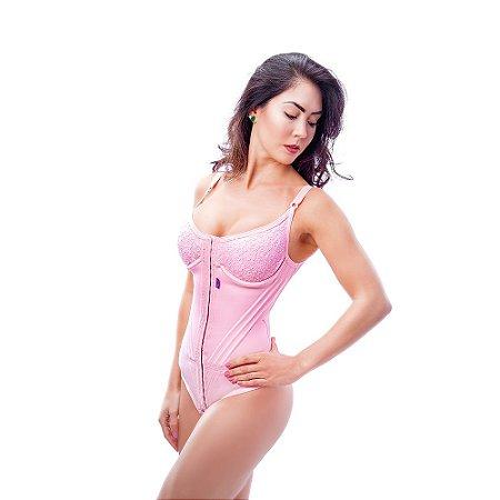 Cinta modeladora feminina Body pré moldado