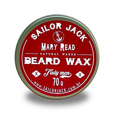 Cera Para Barba Beard Wax Sailor Jack Linha Mary Read - 70g