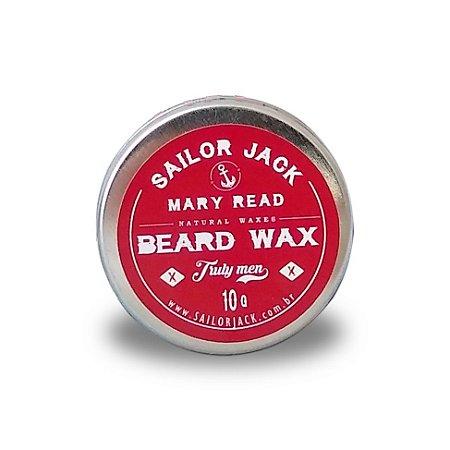 Cera Para Barba Beard Wax Sailor Jack Linha Mary Read - 10g