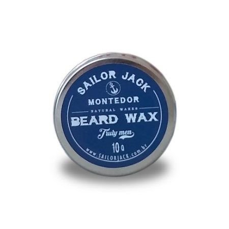 Cera Para Barba Beard Wax Sailor Jack Linha Montedor - 10g