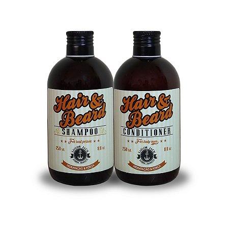 Kit Shampoo e Condicionador Hidratação e Força - 250ml