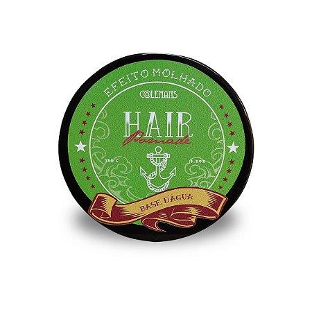 Pomada para Cabelo - Hair Pomade - Efeito Brilho - 150g - Linha Colemans