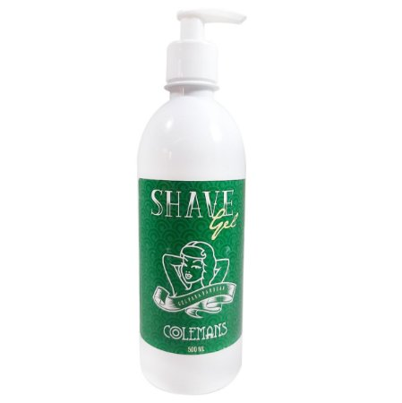 Shave Gel 500g Colemans