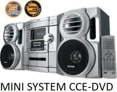 MINI SYSTEM CCE ADV700 COM DVD PLAYER