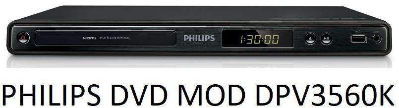 DVD PHILIPS MOD. DPV3560K HDMI E KARAOKÊ