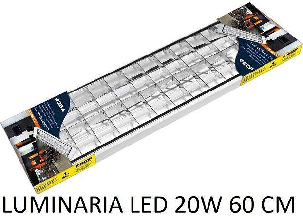 LUMINÁRIAS LED DE 60CM E 120CM