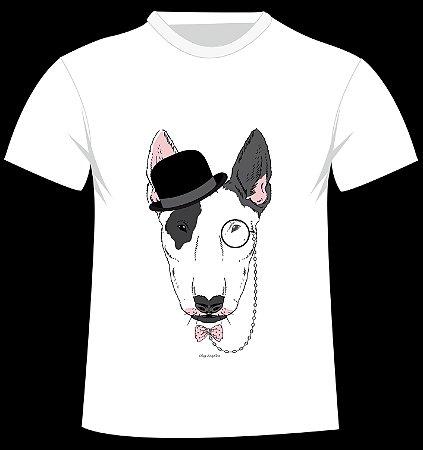 Camiseta Bullterrier da artista Olga Angelloz