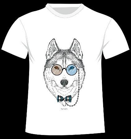 Camiseta Husky da artista Olga Angelloz