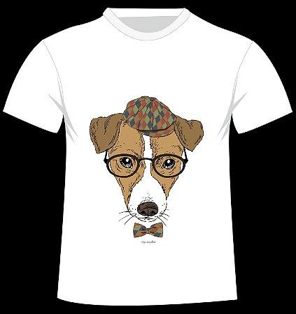 Camiseta Jack Russel da artista Olga Angelloz