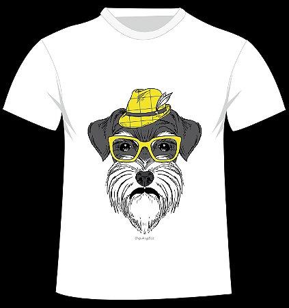 Camiseta Schnauzer da artista Olga Angelloz