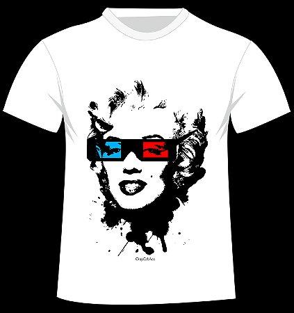 Camiseta Marilyn do artista GrayCatAca