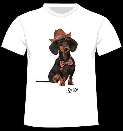 Camiseta Daschund Spike
