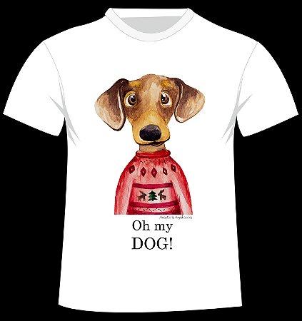 "Camiseta ""Oh my dog!"" da artista Anastasiia Kryzhanska"