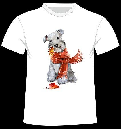 Camiseta Schnauzer da artista Lorri Kajenna