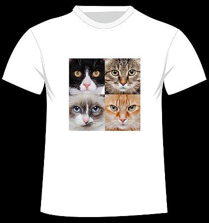 Camiseta Monte Sua Família de 4 Patas - GATOS