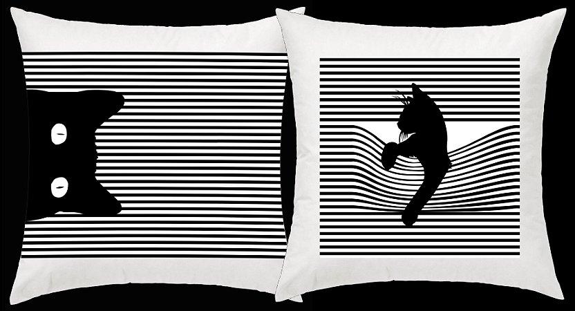 Dulpa de almofadas de gato do artista Zvercat27
