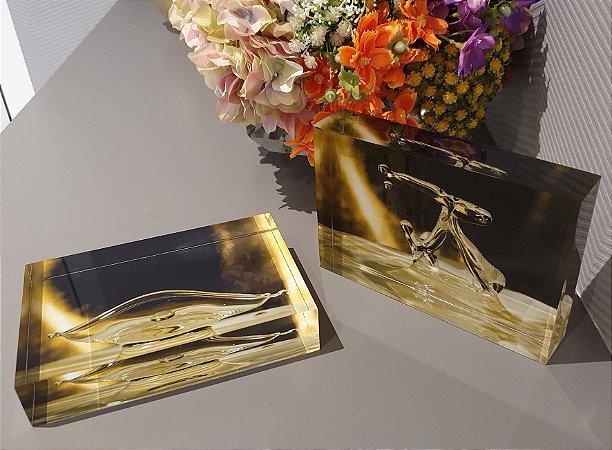 Conjunto de Fotoblocos Lâmpada Mágica da artista Andrea Laybauer