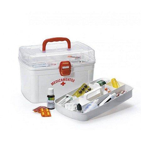 Caixa de Primeiros Socorros para Organizar Medicamentos Grande