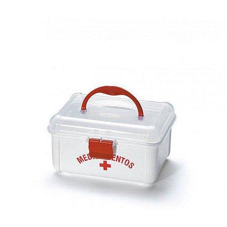 Caixa de Primeiros Socorros para Organizar Remédios Pequena