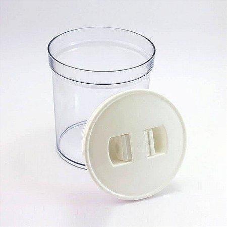 Pote Hermético de Acrílico Empilhável 1 Litro