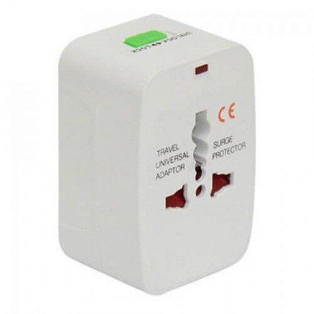 Adaptador de Tomada Universal 110/240v Todos os Tipos de Plug