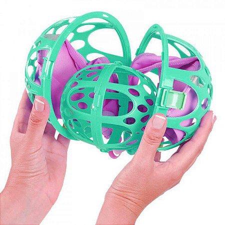 Esfera Protetora para Lavar Sutiã