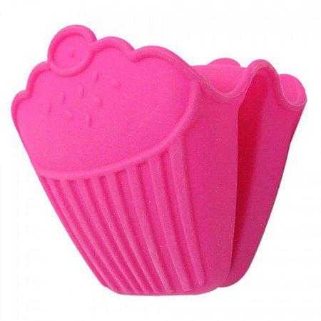 Luva de Silicone para Pegar Panelas Cupcake