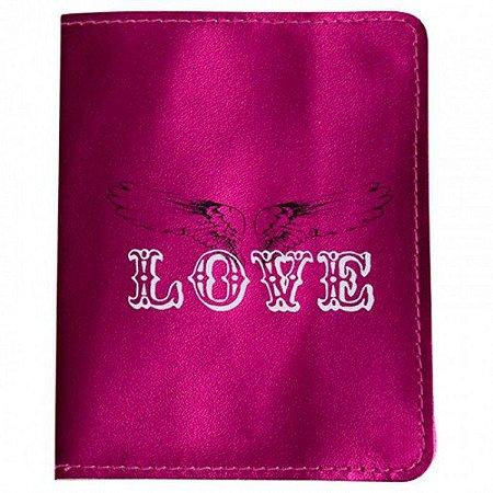 Capa para Passaporte Love - Varias Cores