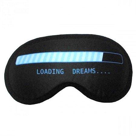 Máscara de Dormir Criativa Loading Dreams