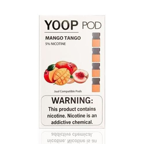 Yoop Pods Mango Tango- Compatíveis com Juul - Yoop Vapors
