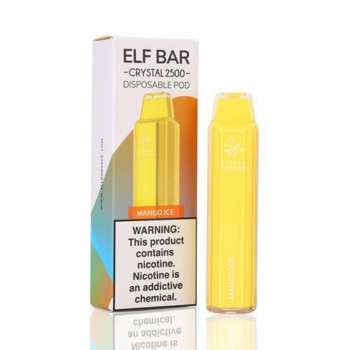 Pod Descartável 2500 Puffs - Elf Bar - Mango Ice