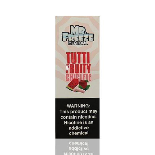 Líquido Mr. Freeze - Menthol - Tutti Fruity Chiclete
