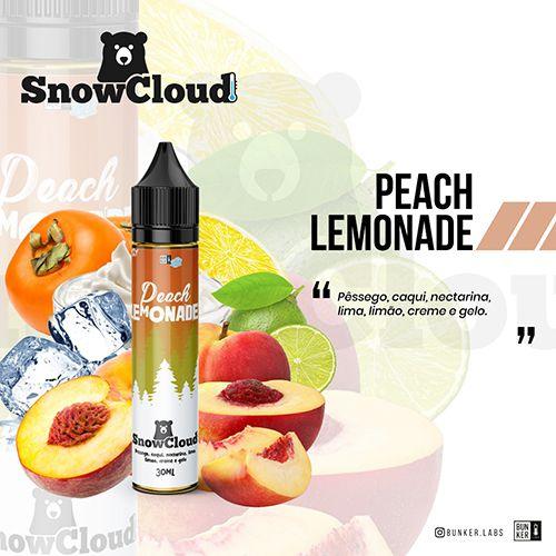 Líquido SnowCloud - Peach Lemonade