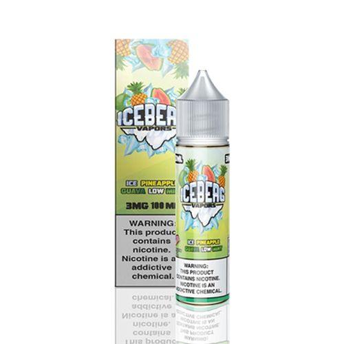 Líquido Iceberg Vapors -  Ice Pineapple Guava Low Mint