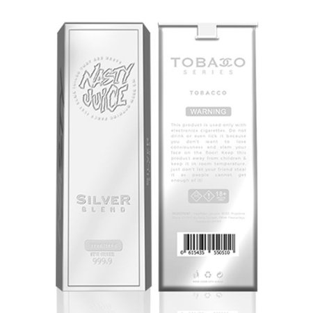 Líquido Nasty Juice - Tobacco Séries - SILVER BLEND