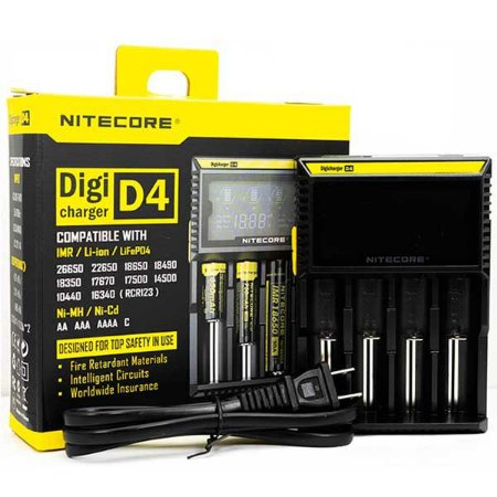 Carregador Digicharger D4 - NITECORE