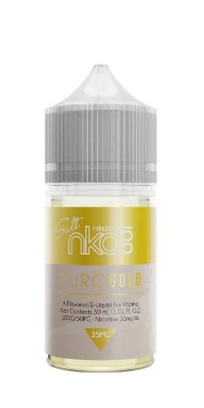 Líquido Nic Salt Naked 100 SALT NICOTINE - Euro Gold