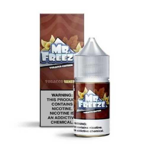 Líquido Tobacco Vanilla Salt - MR. FREEZE