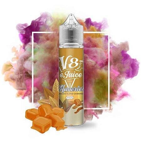 Líquido Tobacco Blend Caramel - Maverick - V8 eJUICE