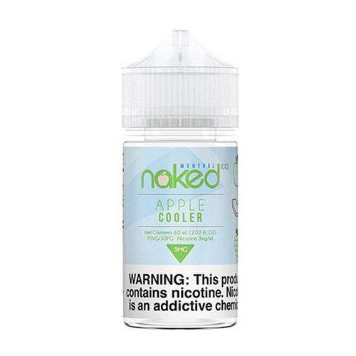 Líquido Apple Cooler Menthol - NAKED 100
