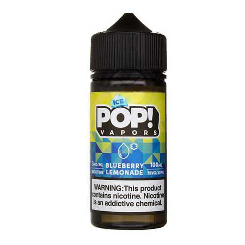 Líquido Blueberry Lemonade Ice - POP! VAPORS