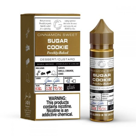 Líquido Sugar Cookie - Basix Series - GLAS VAPOR