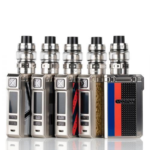 Cigarro eletrônico Kit Alpha Zip 180W com MAAT Tank - VOOPOO