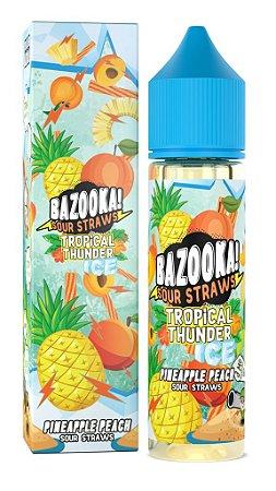 Líquido Pineaple Peach Ice - Tropical Thunder - BAZOOKA!